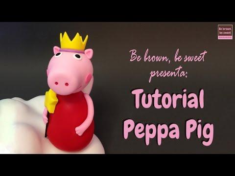 Tutorial Peppa Pig en RKT y fondant