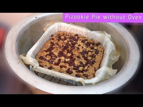 How to Make Pizookie Pie | Without Oven Pizookie Pie Recipe