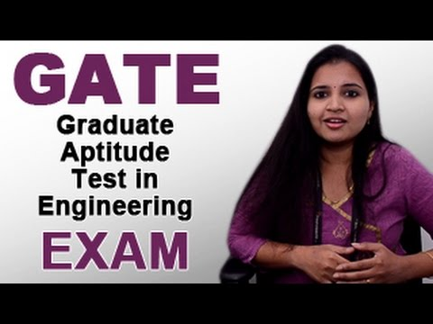 GATE 2016–GATE Exam Notification,Online Application Form,Results