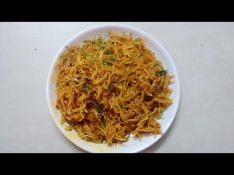 how to make namkeen sawayi
