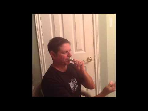Making a sound on the mouthpiece for trombone and low brass