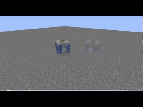 Tardis phasing engines 12th doc (A Minecraft Animation)