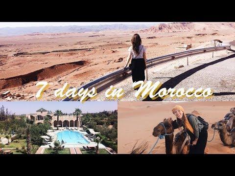 TRAVELVLOG // 7 days in Morocco