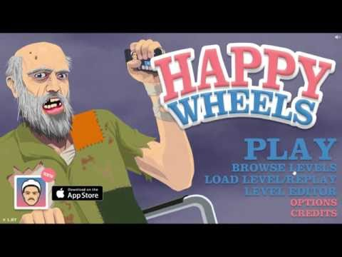 Happy Wheels My first video #1