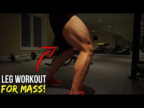 FULL Gym Leg Workout (THIS=GROWTH!)