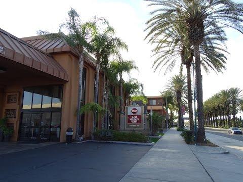 BEST WESTERN PLUS Stovalls Inn Double Room - Disneyland Anaheim Los Angeles California Hotel