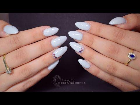 How to: Gel Nails Refill - Light Elegance | BeautybyDianaAndreea