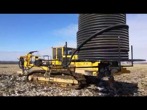 Inter-Drain 2050 SP Tile Plow 3 Inch Install