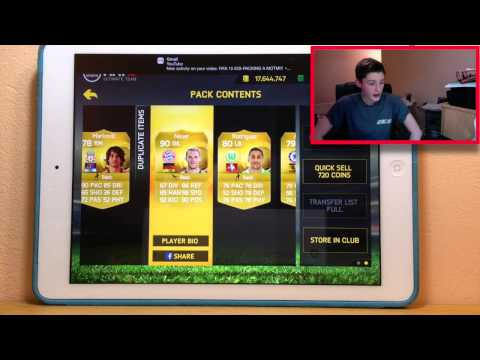 FIFA 15 IOS-FIVE 90 RATED PLAYERS?! +INFORMS AMAZING 50K PACKS!!