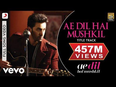 Xxx Mp4 Ae Dil Hai Mushkil Title Track Full Video Ranbir Anushka Aishwarya Arijit Pritam 3gp Sex