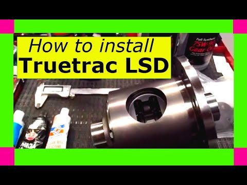 How to install a Detroit Truetrac limited slip differential carrier. ADVANCED INSTRUCTIONS!