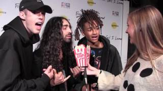 """Harry Hudson and Jaden Smith support Mateo Arias at """"First Girl I Loved"""" Premiere"""