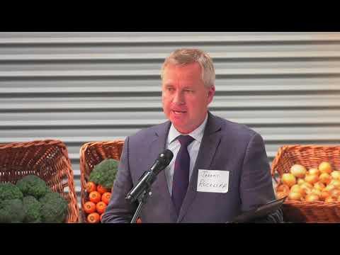 Forthside Open Day 2017 - Minister Jeremy Rockliff