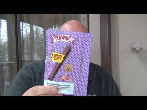 Gas Station Cigars : Backwoods (HONEY BERRY)