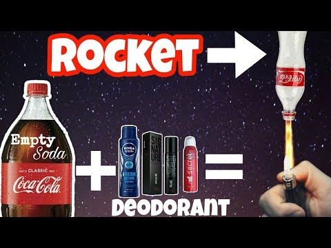 Home made pollution free rocket(DIY) || make rocket with deodorant and empty bottle | DIY Rocket