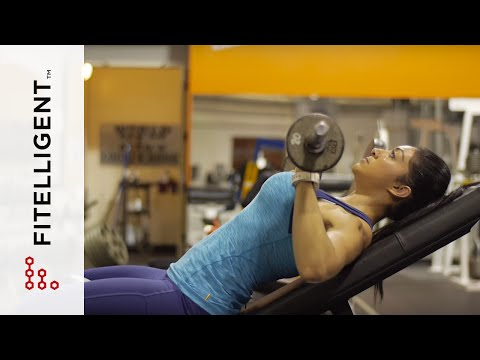 Incline Barbell Chest Press