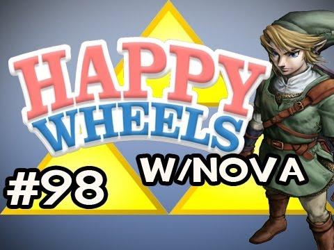 Happy Wheels w/Nova Ep.98 - Legend of Zelda: Ocarina Of Time HD Edition Pt.4 FINALE
