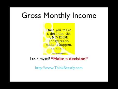 Gross Monthly Income | How to Calculate Your Gross Monthly Income