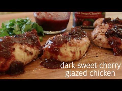 Dark Sweet Cherry Chicken