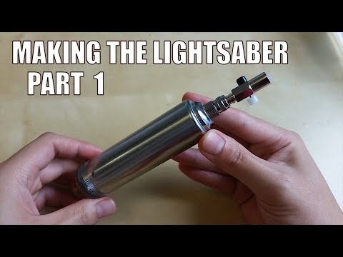 How to Make a Real Burning Lightsaber: Part 1