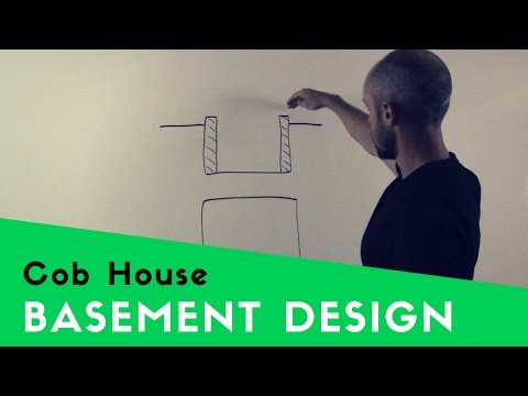 HOW TO BUILD A BASEMENT UNDER A COB HOUSE