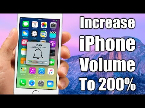 Increase The Volume Of Your iPhone Up To 200%