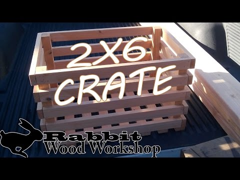 How to Build a Wood Crate out of one 2x6