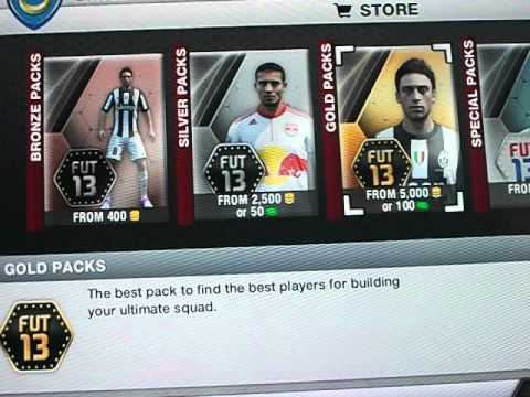 Fifa 13 Ultimate Team pack glitch!!! 87 rated player.