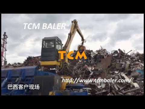 Recycling car balers