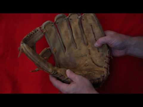 Rawlings HFG12 Baseball Glove Relace - Before and After Glove Repair