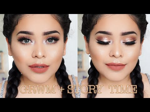GRWM + STORYTIME | Getting caught by parents