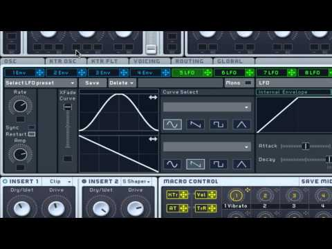 How To Make A Climbing Pitch Sounding Synth In Massive