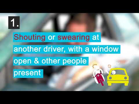 People in the UK putting themselves at risk by dangerous driving due to road rage