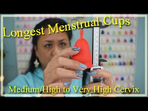 Menstrual Cups for a High Cervix