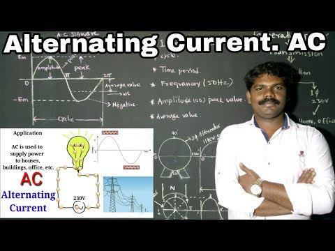 Alternating Current  In Tamil