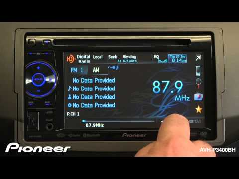 How To - AVH-P3400BH - Radio Station Presets