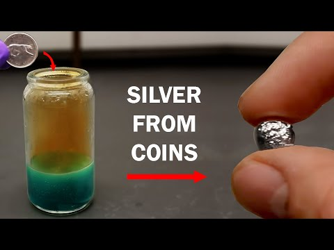 How to extract Silver from a Coin (or other silver containing material)