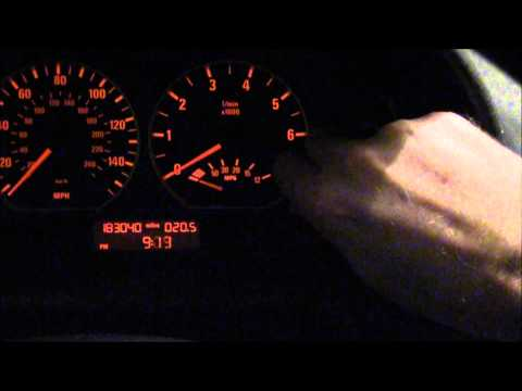 Setting the clock on BMW E46 330i and 3 Series.  Time Change from Daylight Savings. 2004