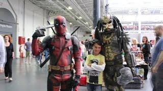 London Film & Comic Con July 2016 - Deadpool and Predator BEST