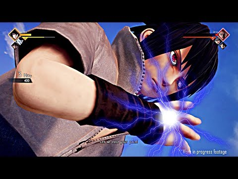 JUMP FORCE (2019) All Playable Character Abilities, Transformations & Ultimate Attacks (DEMO)