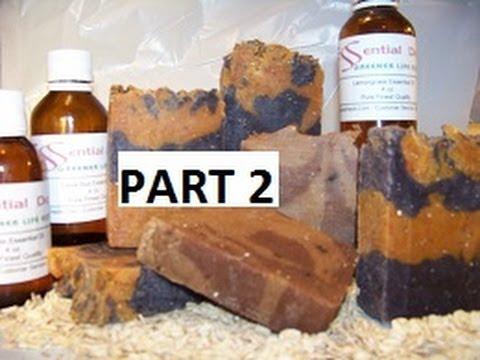 How to Make Hot Process Goats Milk Lye Soap PART 2