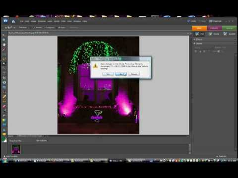 Photoshop 6 elements how to change or replace color in photos.