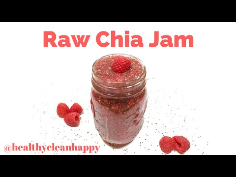 Recipe: How to Make Raw Chia Jam