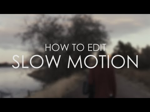 How to Edit Slow Motion Footage in Adobe Premiere Pro