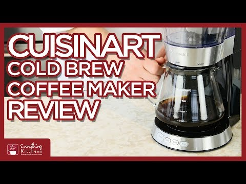 Cuisinart Cold Brew Coffee Maker - Review by Chef Austin
