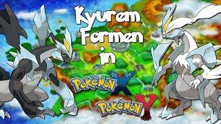 Schwarzes und Weißes Kyurem in Pokemon X Y bekommen