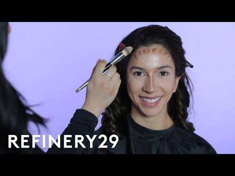 I Got Transformed Into Kourtney Kardashian   Beauty Evolution   Refinery29