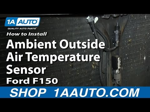 How To Install Replace Ambient Outside Air Temperature Sensor 2004-08 Ford F150