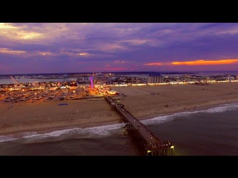 Ocean City, Maryland - A Short Aerial Video in 4K Ultra HD.