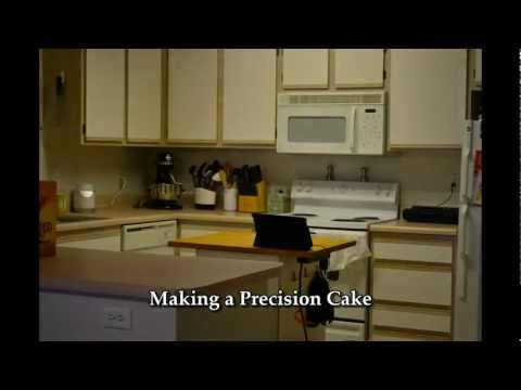 Making the Camo Cake
